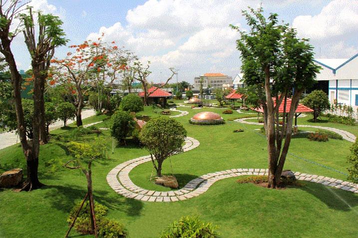 Thi công sân vườn Quy Nhơn